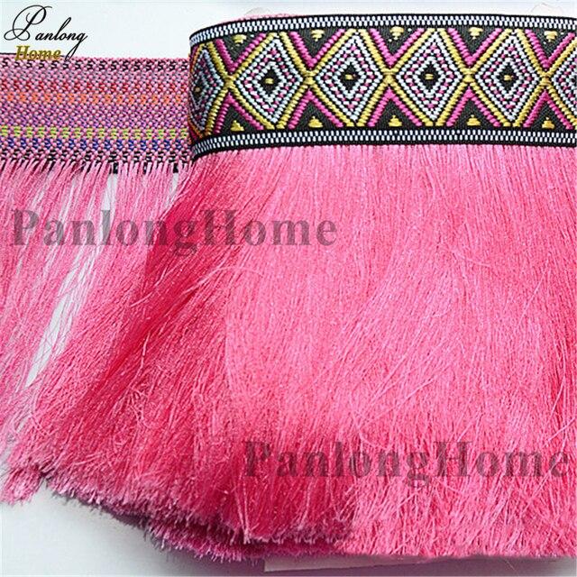 Panlonghome 2018 New Hot Selling Beautiful Ribbon Tassel Belt