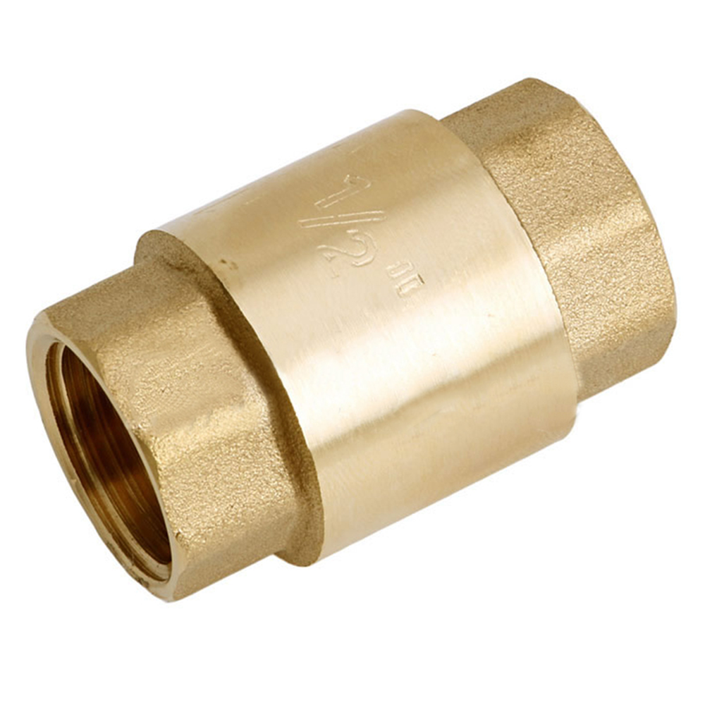 1 шт. 1/2 ''NPT латунный резьба в линии пружинный обратный клапан 200WOG