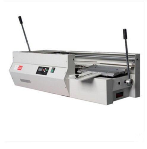 DC 40Tsemi Automatic Swaktop Perfect Binding Machine,glue