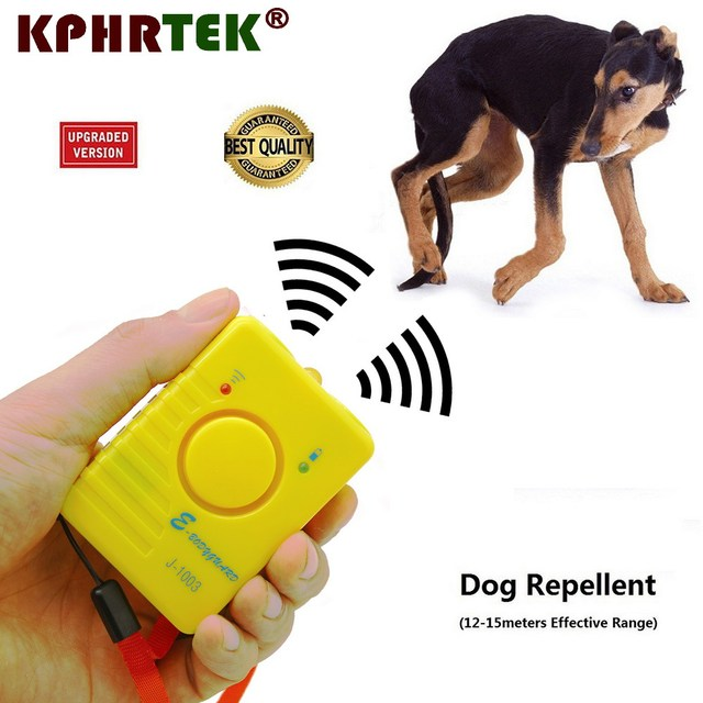 Original Ultrasonic Dog repeller Dog Repellent Sonic Deterrent Pet Chaser Super Powerful Rechargeable nf
