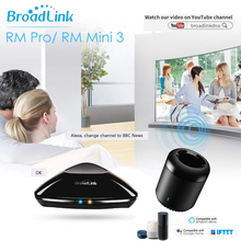 Broadlink Smart Home RMPro Mini 3 WiFi+4G+RF+IR Remote Control APP Voice Controller for Alexa Google Home IFTTT 2019 New Version
