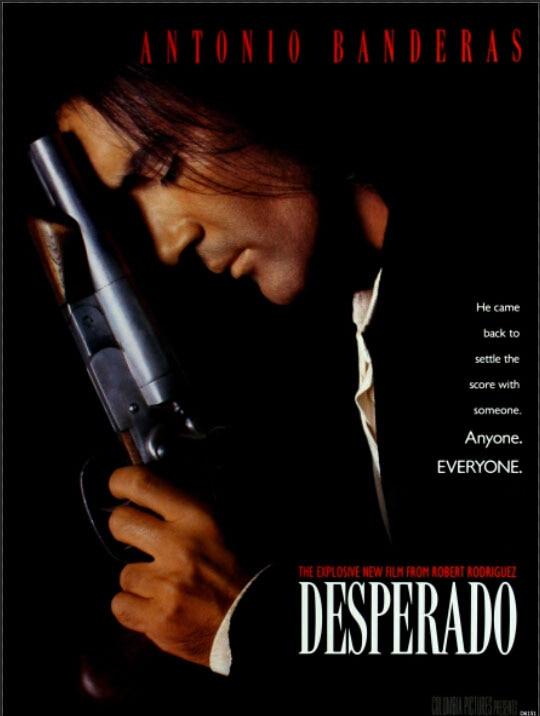 El Mariachi Desperado Antonio Banderas Film Kunst Großen Druckplakat TXHOME D6151