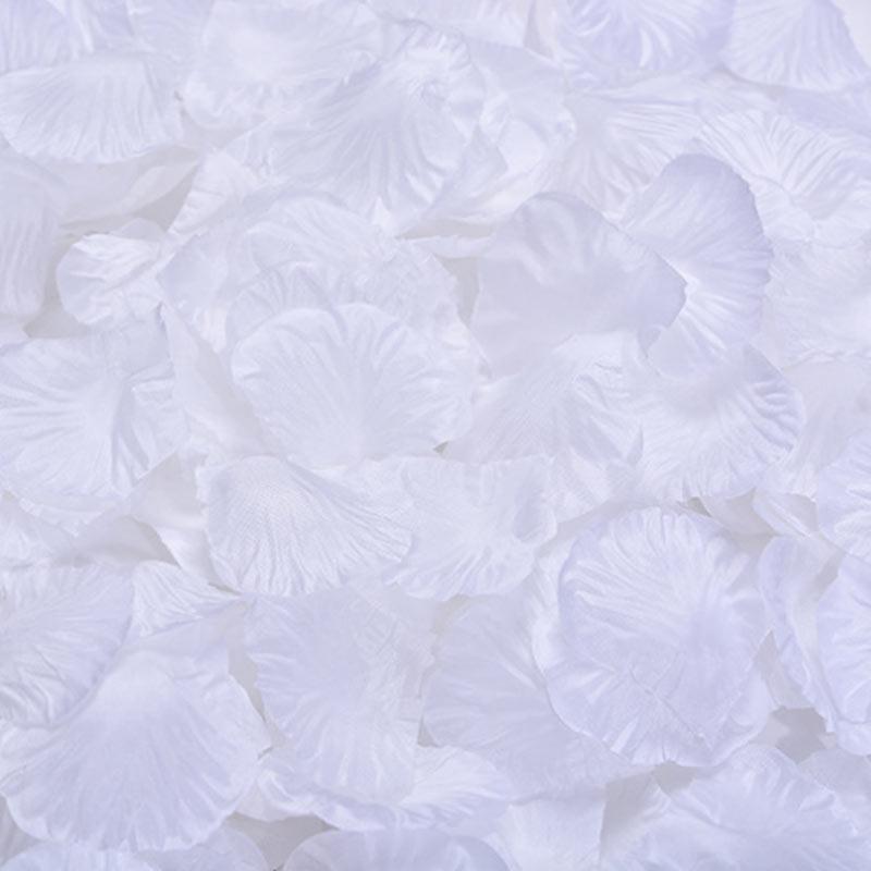 1000 шт./лот, лепестки роз, свадебные, искусственные шелковые цветы, украшения, свадебные, вечерние, цветные, 40 цветов, RP01