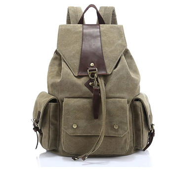 New Backpacks Canvas Wearable Travel Backpacks Trendy Backpacks for Students фото