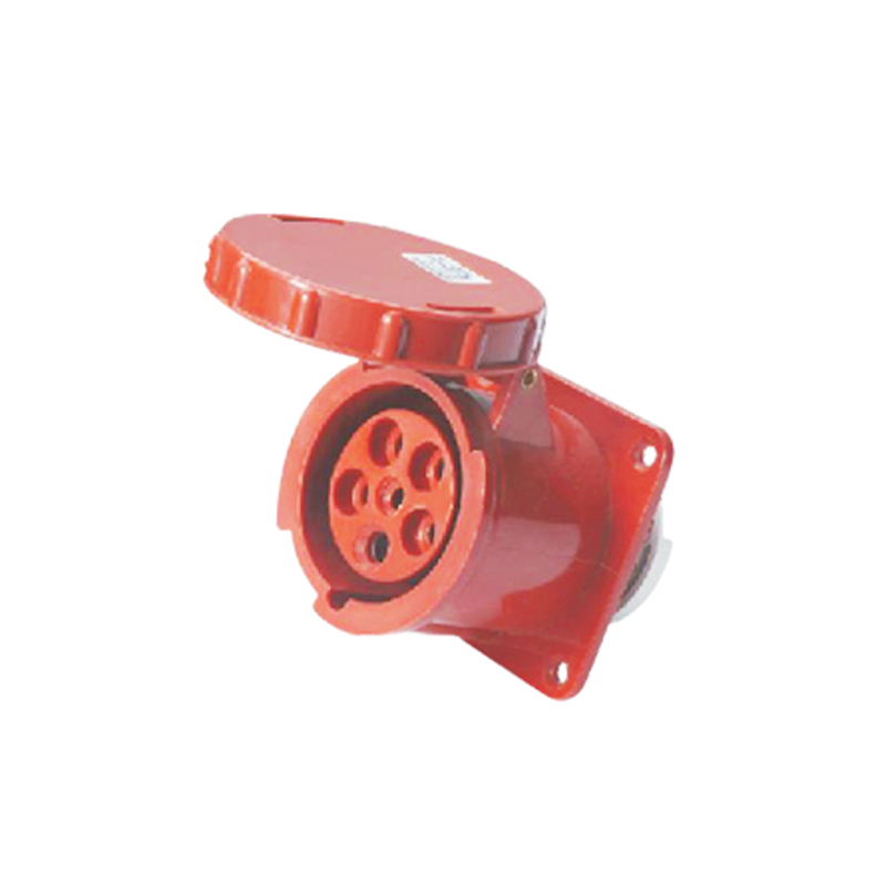 125A 5Pin industrial hide direct socket connector SF-345 concealed installation socket ~3P+N+E cable connector IP67 5 125