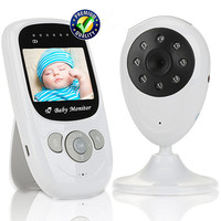 XinPad 2 4 Inch Color TFT LCD Audio Video Baby Monitor Babysitter 2 4GHz Wireless Security