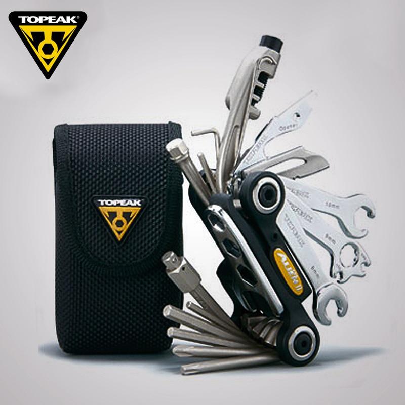 Topeak TT2353 ALiEN II Bicycle Multi Function Tool Kit Road Bike Reapair Wrench Tool Set MTB