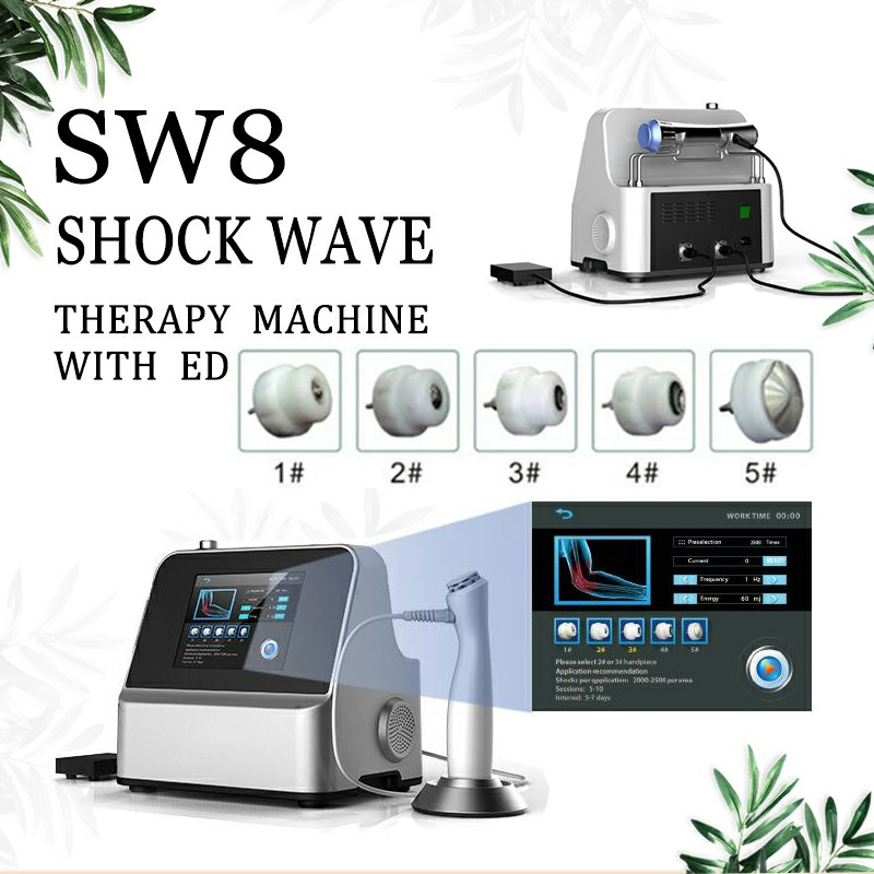 IN Stiock !Shock Wave Therapy Acoustic Wave  Therapy Pain Relief Arthritis Extracorporeal Pulse Activation Technology Equipment