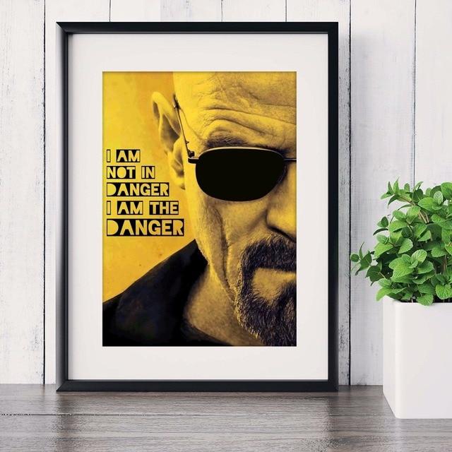Breaking Bad TV Series Pared Fotos Lámina Pintura Poster Room ...