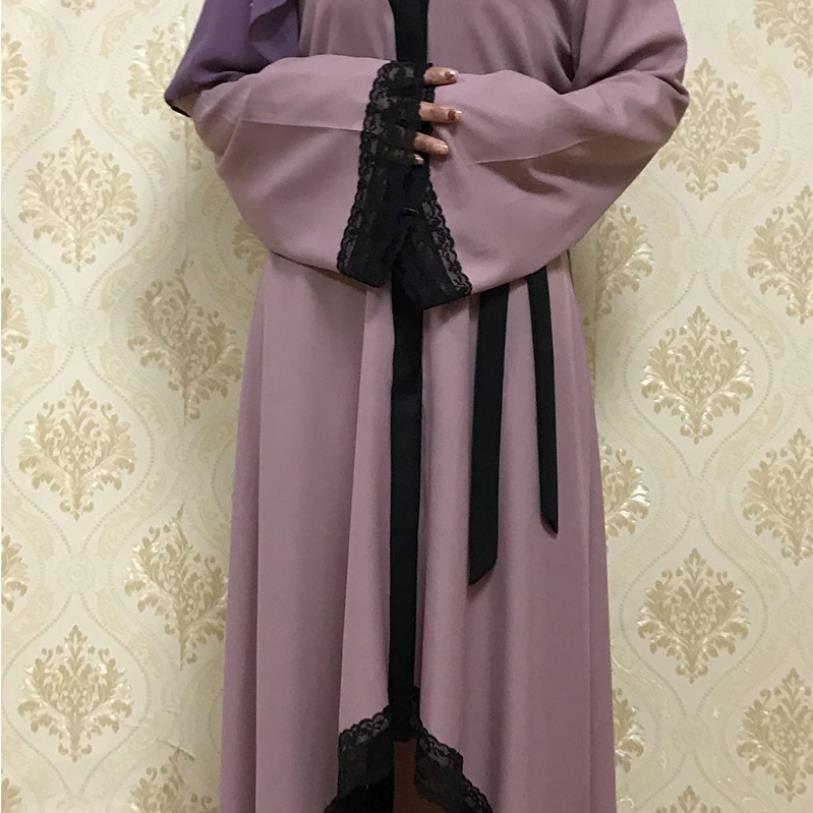 Muslim Adult alace Robe Musulmane Turkish Dubai Fashion big swing kimono Muslim Abaya Dress Arab Worship Service abaya Wq1083