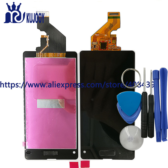 New z1 mini LCD Touch Panel For Sony Xperia Z1 Compact Z1Mini D5503 LCD Display Touch Screen Digitizer Assembly With Tools