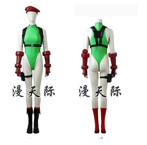 Street Fighter V Cammy White Costume Cosplay Jumpsuit Game Girl Anime Lolita