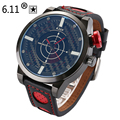 6.11 2016 Homens Relógios de Luxo Da Marca Radar movimento de Quartzo Relógio de homens Do Exército Esporte Relógio Masculino relogio masculino Q3102