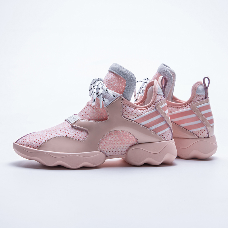 DORATASIA 2019 New Brand Design Summer Mesh Sneakers Genuine Leather Large Size 34 42 Women Platform Shoes Woman in Women 39 s Flats from Shoes