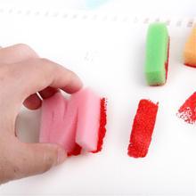 """26 букв Алфавит губки для рисования Рисование ремесло книжка """"сделай сам"""" штемпельная eco-friendly забавные креативные детские игрушки Раннее игрушечные"""