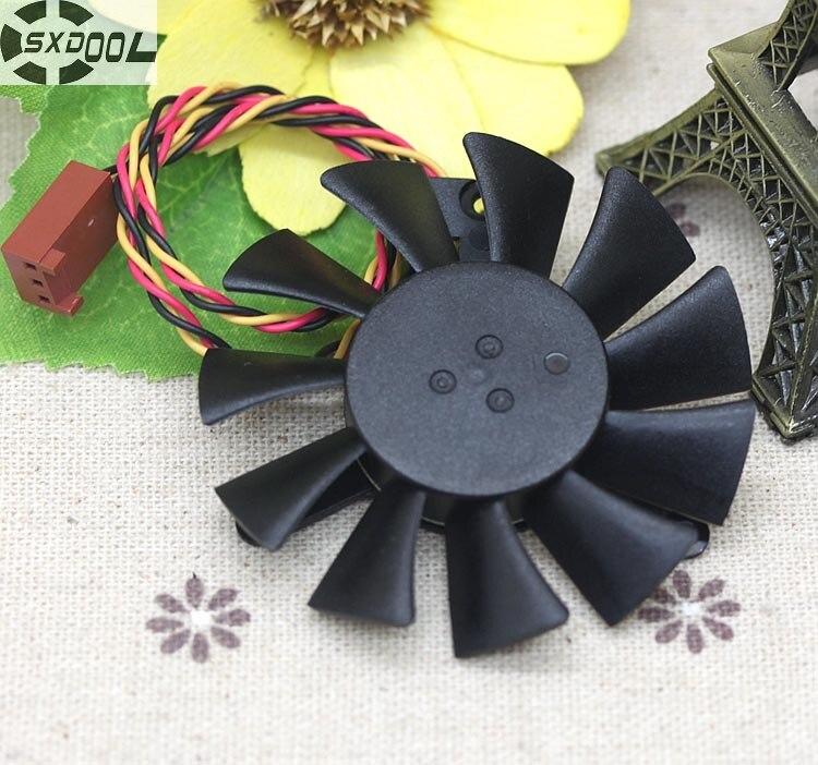 SXDOOL Original Cooler 601 042 * 42 * 42 hole distance MGT6012YR-O15 0.37A graphics card fan