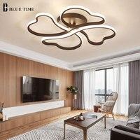 Новое поступление современный светодио дный потолочные светильники для гостиной Спальня дома светильники Алюминий сплав светодио дный Лю