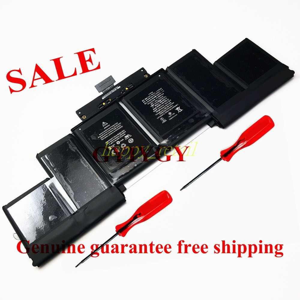 A1618 Batterij Voor MacBook Pro 15 15.4 Retina A1398 (2015 jaar) Laptop 020-00079 MJLQ2LL/Een MJLT2LL/Een 11.36 V 99.5Wh