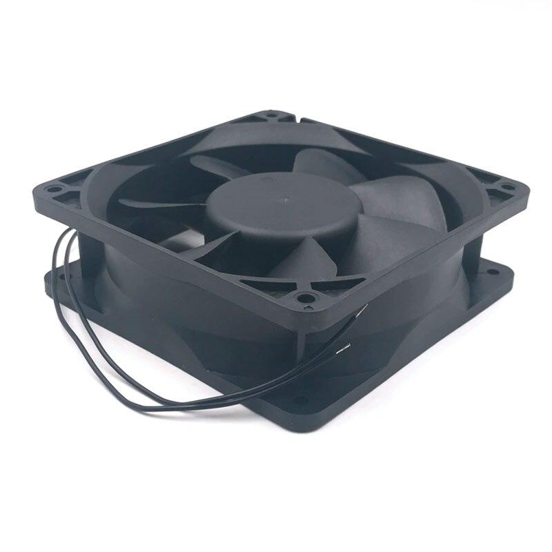 Ec motor cooling fan 220V 110V 230V 115V SXDOOL SXDE12038HB 120mm 12038 12V 3500RPM 147.6CFM axial cooler 4