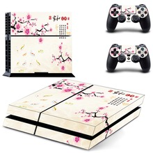 HOT Traditional Chinese Painting  Vinyl Decal  Sticker For Sony PlayStation 4 Console Skins And PS4 Controller Skin Stickers