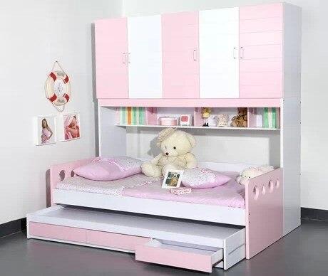 Muebles para niños adolescentes unitized guardarropa de la muchacha ...