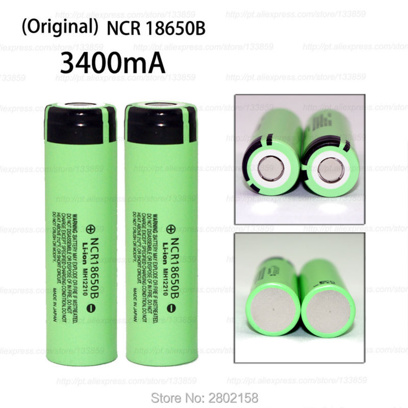 2016 New 4 PCS. The original NCR18650B 3.7 The 3400 mAh 18650 rechargeable lithium battery for Panasonic free shopping varicore new original 18650 ncr18650b rechargeable li ion battery 3 7v 3400mah for panasonic flashlight use free shipping