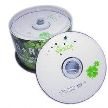 DVD+ R 8,5 GB двухслойный D9 8X240 мин 50 шт./лот