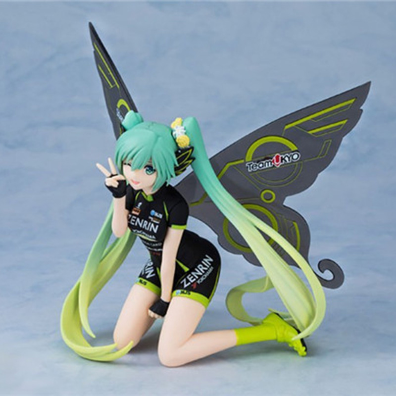 Tony Hatsune Miku Figure 2017 Ver. Racing Butterfly Miku PVC Action Figure Collectible Model no retial box (Chinese Version)