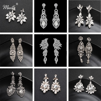 Miallo Fashion Austrian Crystal Alloy Bridal Long Earrings for Women Wedding Big Earrings for Bride Bridesmaids.jpg 350x350 - Miallo Fashion Austrian Crystal Alloy Bridal Long Earrings for Women Wedding Big Earrings for Bride Bridesmaids