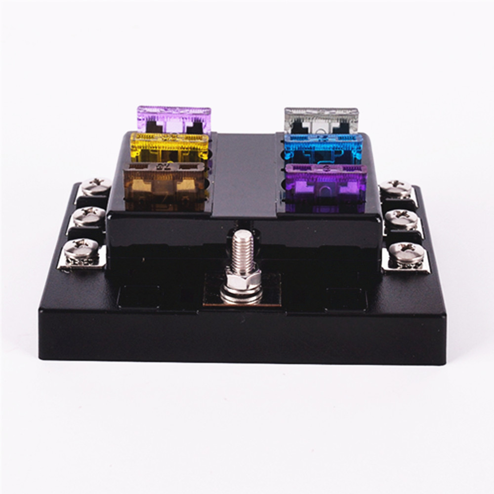 Buy Dc 32v 6way Circuit Car Truck Automotive Atc Ato Blade Fuse Box Astra H Water In Best Holder With 10 Pcs Modification Online Cheap