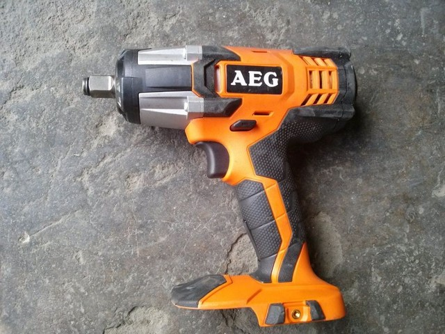 Ridge Ridgid Aeg Imports 18v Lithium Rechargeable Impact Wrench Air Gun Fineness Of The New Stand Alone Price