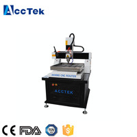 Factory Direct Price Aluminum Plate 3D Milling Machine High Accuracy Mould Engraving AK6060 CNC Mini Milling Machine