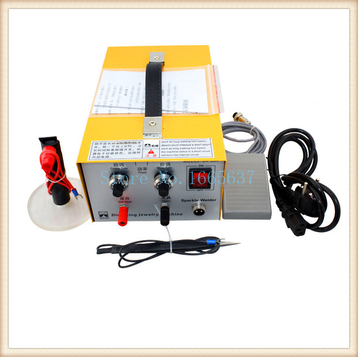 Pulse Sparkle Spot Welder 400W, manufacture Gold Silver Platinum Welder, Jewelry Welding Machine free shipping pulse argon spot welder 400w welding jewelry gold silver platinum palladium goldsmith
