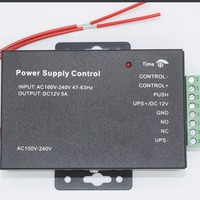 New DC 12V Door Access Contorl Power Supply Input AC 110 240V Delay Time Function Access Control Accessories Security & Protection -