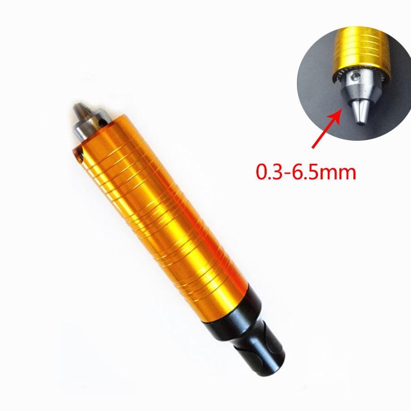 0,3-6,5 mm Nóż do rzeźbienia w drewnie Elektryczny chwyt ręczny + klucz do modernizacji, uchwyt wiertarski wiertarki elektrycznej