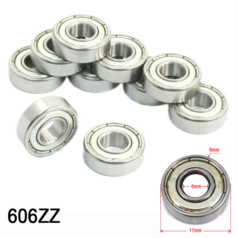 6000Z 10mm x 26mm x 8mm Sealed Deep Groove Ball Bearings 10 Pcs 6000 2rs sealed deep groove ball bearing 10mm inner dia black silver tone