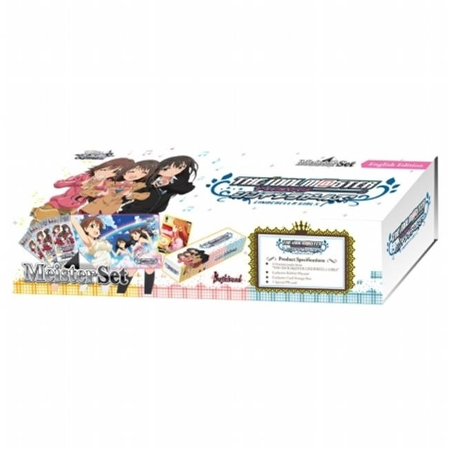 Bushiroad South East Asia BSRWSMSIM Weiss Schwarz Idolmaster Cinderella Girls Meister Set рюкзак picard 9809 113 001 schwarz