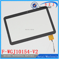 Original 10.1'' inch touch screen for ARCHOS Tablet PC touch panel digitizer F-WGJ10154-V2 Free shipping 5Pcs/lot