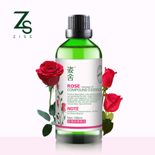100% Pure Rose Tea Beauty Essential Oils for Natural Skin Care Moisturize Acne Removal Hydrating Whitening Massage SPA Bath Oil