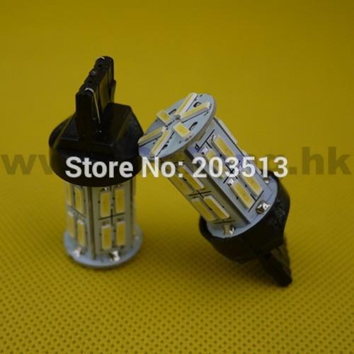 10pcs/lot 2014 new design 12v t20 led car lighting w21w 26 smd 7440 26 leds 7014SMD turn lamp bulb Free shipping