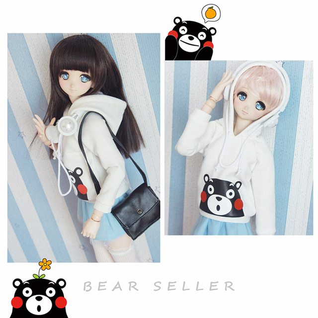 1/6 1/4 1/3 uncle SSDF BJD Doll accessories Bjd clothes white shirt