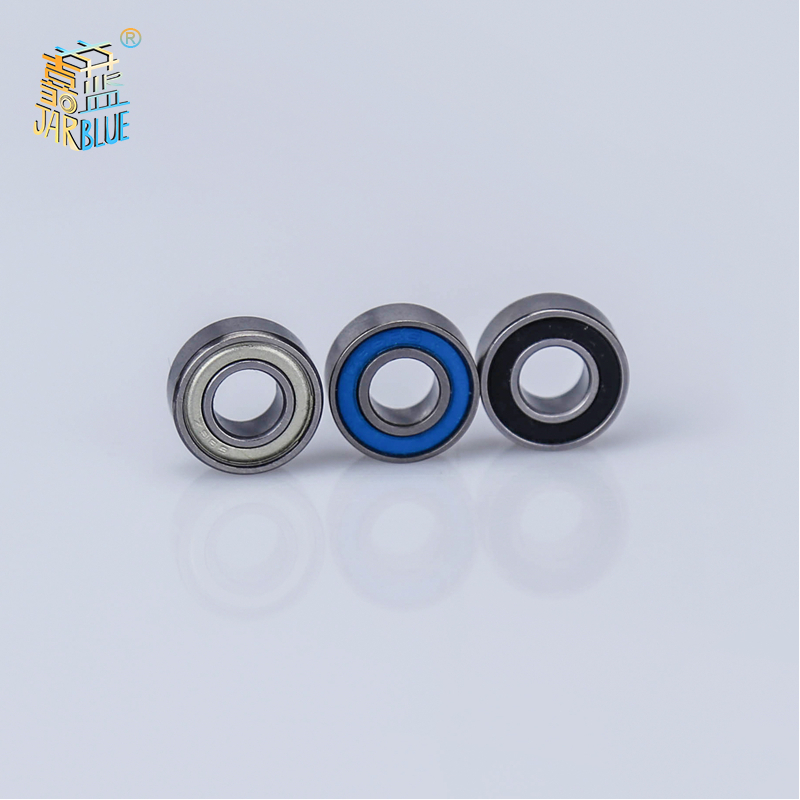 3pcs/lot <font><b>Mr126zz</b></font> Deep Groove Ball Miniature Mini Bearings <font><b>Mr126zz</b></font> Mr126-zz mr126rs 6*12*4mm 6*12*4 Bearing Steel Material image