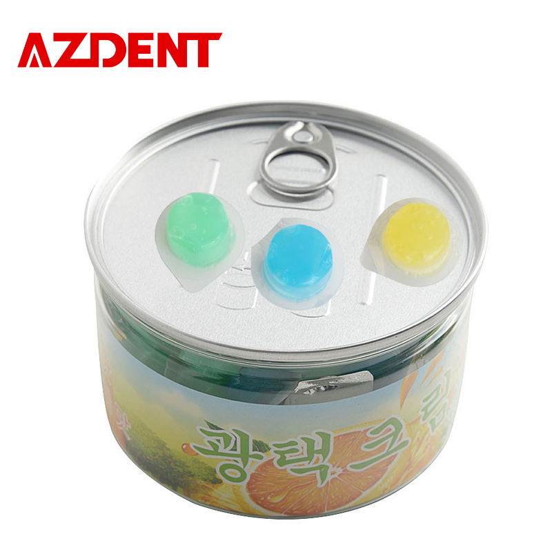 AZDENT 80pcs/Box Tooth Polishing Paste with 3 Flavors White Smile Dental Teeth Whitening Burnisher Polisher Whitener pro teeth whitening oral irrigator electric teeth cleaning machine irrigador dental water flosser teeth care tools m2