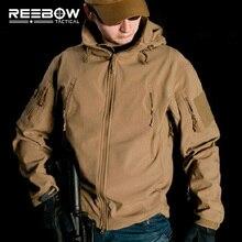 V4.0 Водонепроницаемый Мягкий корпус тактическая куртка для охоты на открытом воздухе спортивная армейская спецназ Военная тренировочная ветрозащитная Верхняя одежда Пальто Одежда