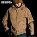 V4.0 Водонепроницаемый Soft Shell Тактический Куртка Открытый Охота Спорт Армия SWAT Военная Подготовка Ветрозащитный Верхняя Одежда Пальто Одежда
