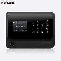 FUERS 2019 G90B-PLUS GSM сигнализация Системы приложение Remote Управление умный дом умный 2,4G GSM GPRS SMS Wi-Fi сигнал Системы безопасности