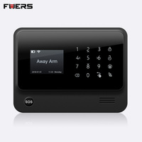 FUERS 2019 G90B PLUS GSM Alarm System APP Remote Control Smart Home Intelligent 2.4G GSM GPRS SMS Wifi Alarm System Security