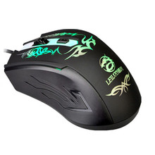 SimpleStone 4D 2400DPI 7-Color Optical Adjustable Wired Gaming USB Game Mice Mouse 60315