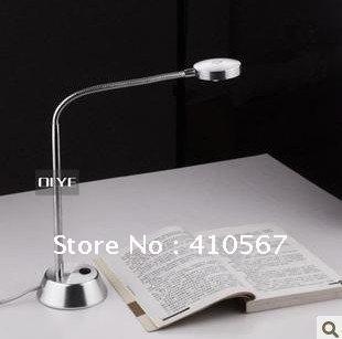 Fedex DHL frete grátis! Moda Led para Laptop / notebook, Mesa mesa de leitura lâmpada branco / branco quente
