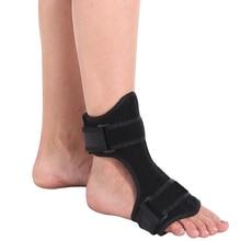 все цены на Adjustable  Drop Foot Orthotic Support Brace+Massage Ball Fasciitis Dorsal Plantar Night Day Splint Men Women Heel Pain Relief